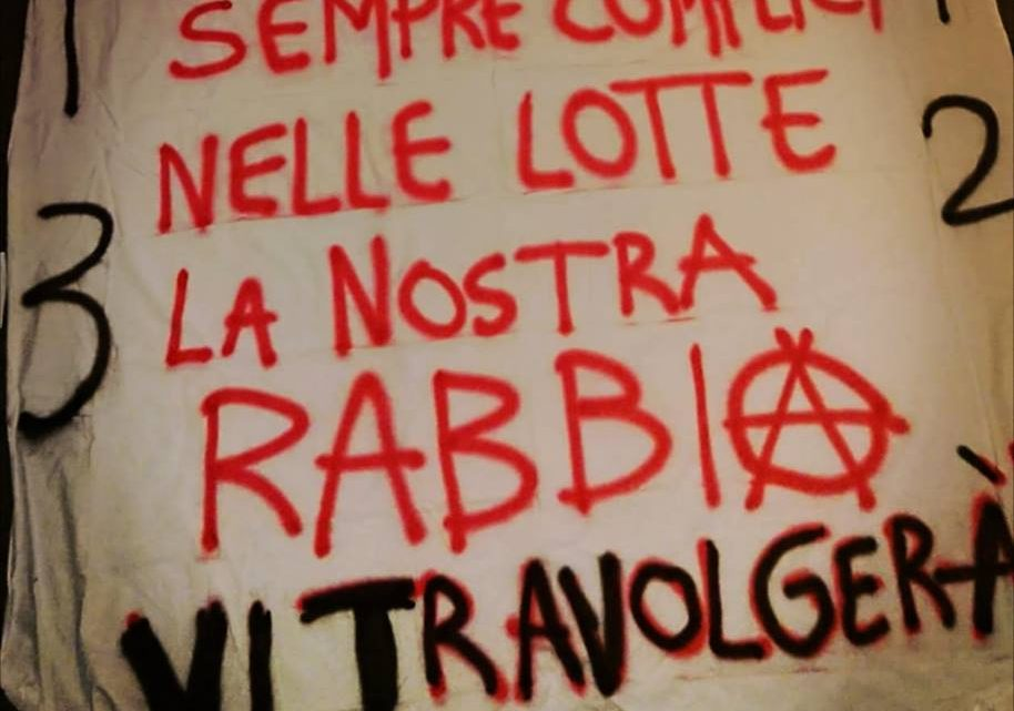 SOLIDARITY WITH THE ARRESTED COMRADES FROM TRENTO