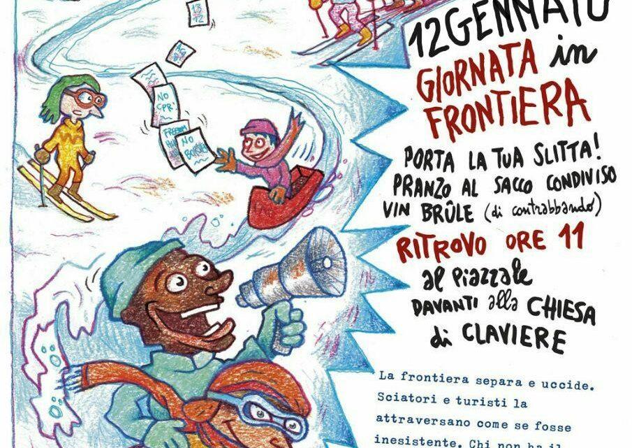 12 Gennaio 2020 – GIORNATA IN FRONTIERA !