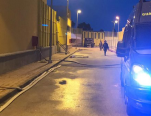 Revolts of inmates close the Detention Center of Trapani Milo