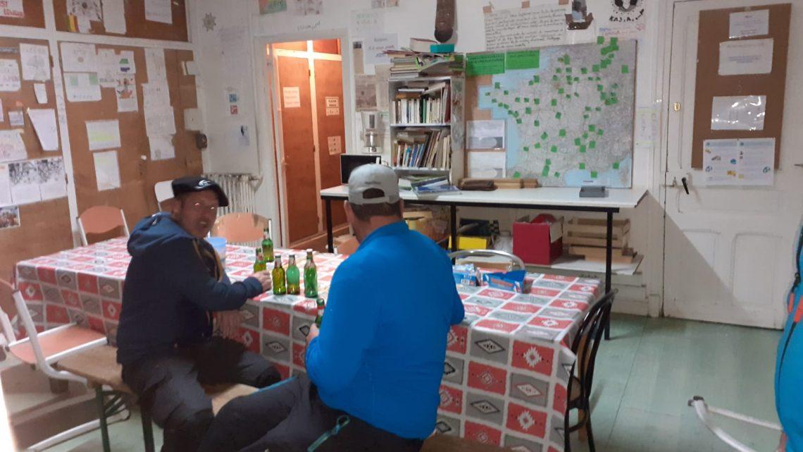 Visita notturna al rifugio di Briançon …