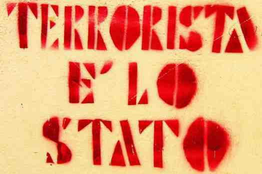 SOLIDARITY WITH THE ARRESTED COMRADES. TERRORIST IS THE STATE!