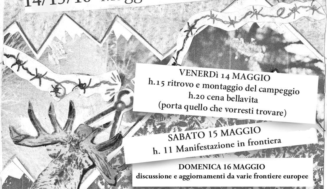 """CAMPEGGIO 14-15-16 MAGGIO """"SCONFINIAMO LA FRONTIERA"""""""