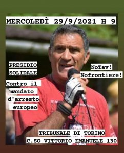 NO TO EXTRADITION! WEDNESDAY 29/09 GATHERING IN SOLIDARITY WITH EMILIO